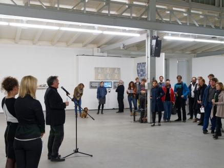 riesa efau Kultur Forum Dresden Motorenhalle - Eršffnung und Ausstellung Digital // Analog: Indifferenz Dresden, 22. 04. - 04. 07. 2015 Fotografie: Andreas Seeliger, Dresden
